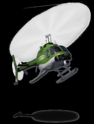 Flying Pizza Helikopter