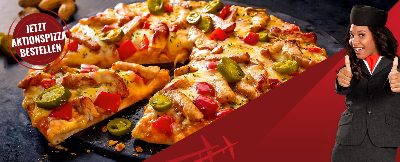 Flying Pizza Karte.Flying Pizza