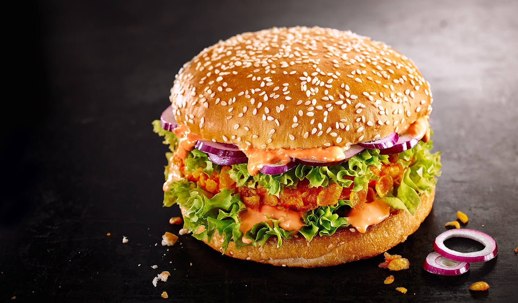 Burger Crunchy Chicken