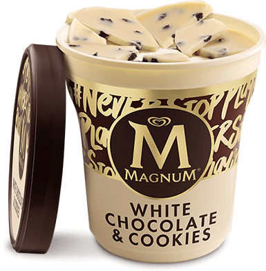 Magnum White Chocolate & Cookies