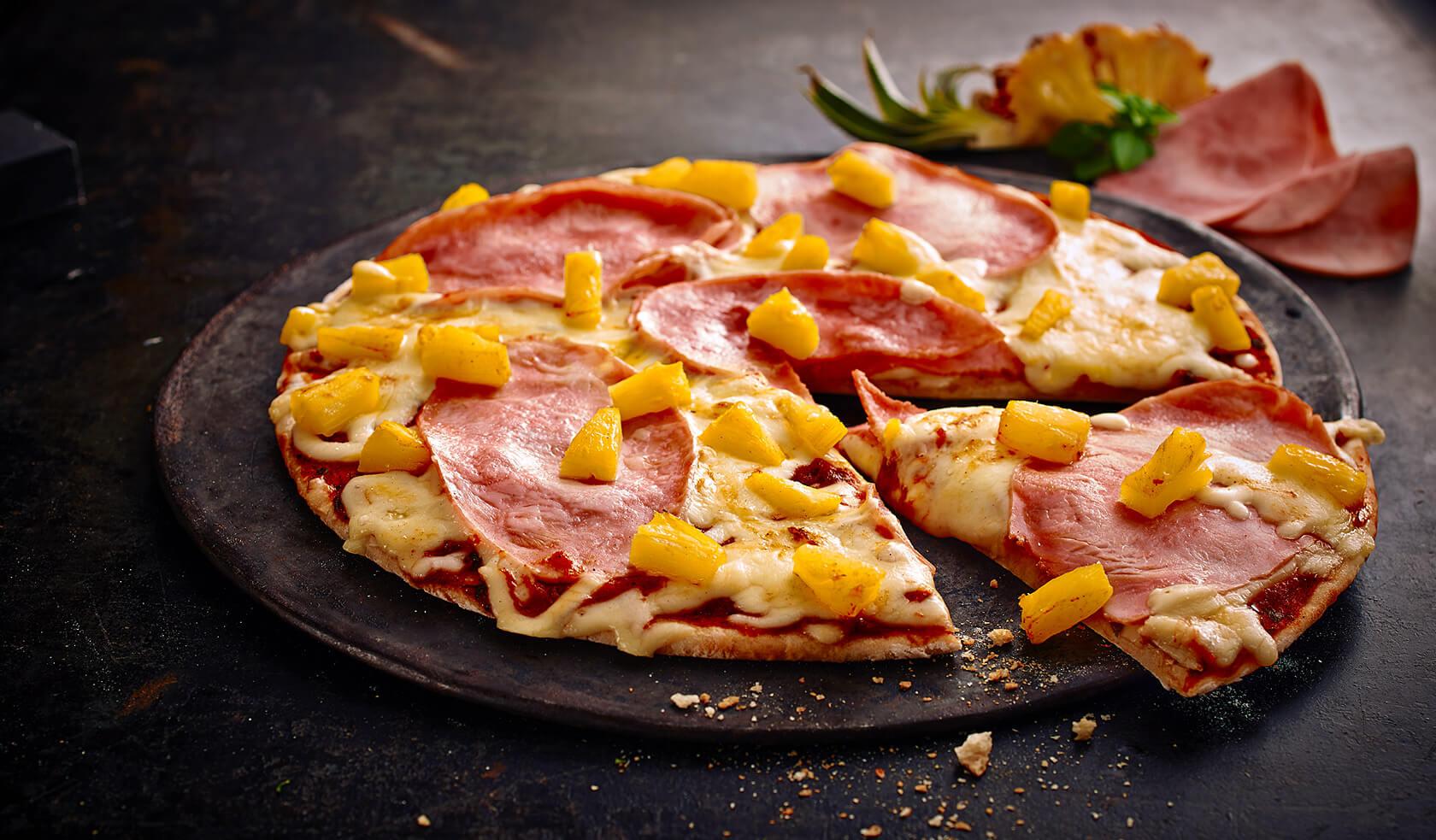 Pizza Schinken-Ananas
