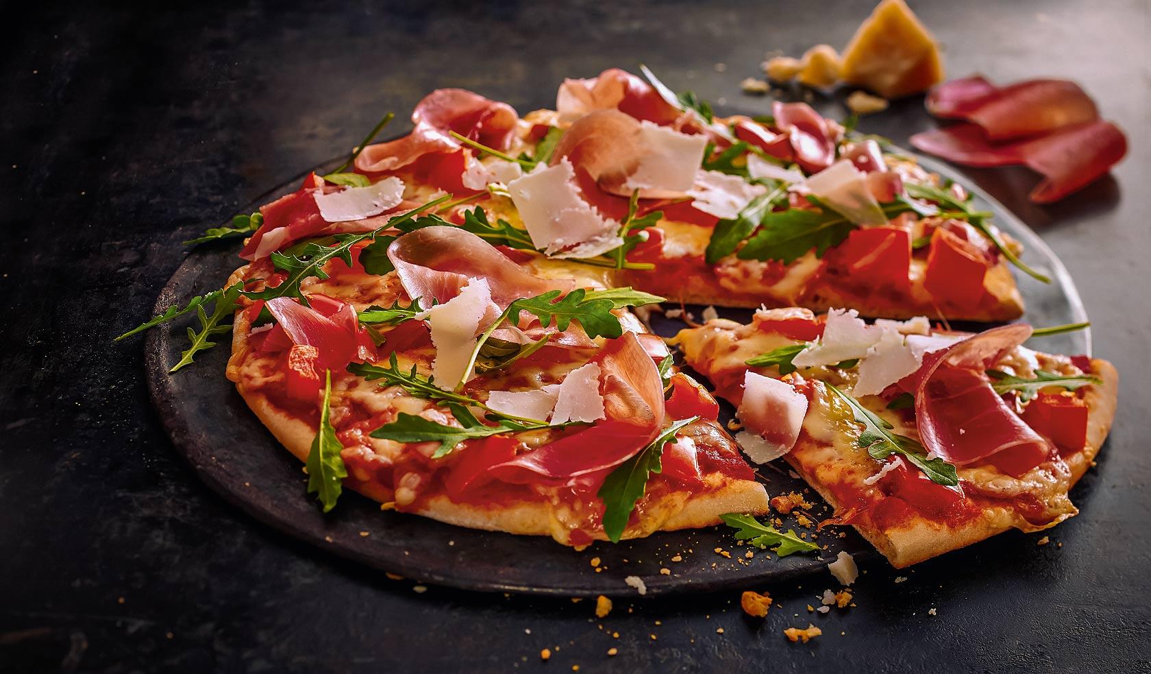 Pizza Serrano-Rucola